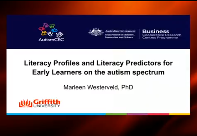 Webinar: Early Predictors