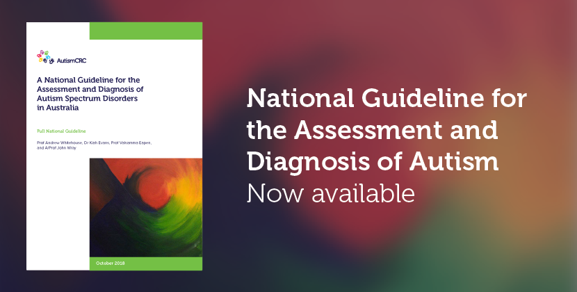 National Guideline for ASD in Australia